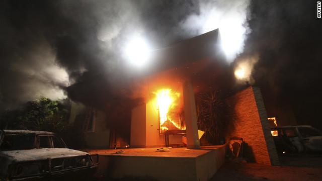 US Consulate Benghazi 9.11.2012