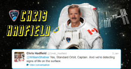 2013: 1st of 13 Things I Want to Know: Is the Tweeting ISS Astronaut Happy With His ISP?