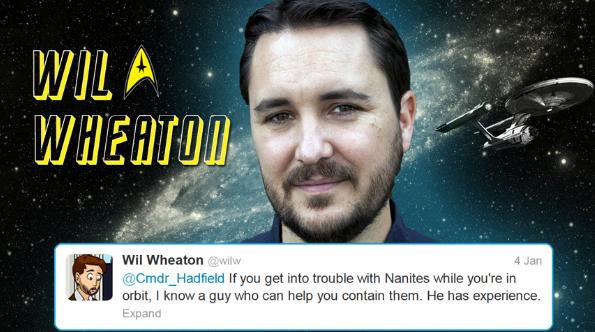 Hadfield tweets starfleet 6