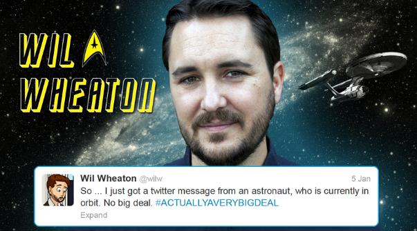 Hadfield tweets starfleet 8