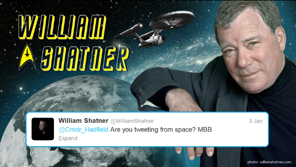 Hadfield tweets starfleet 1