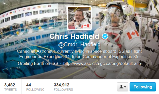 Hadfield-Twitter