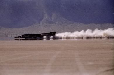 Breaking Mach 1 on Land Source: http://www.speed101.com