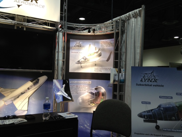 XCOR Lynx at Space Tech Expo