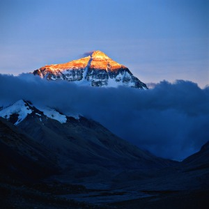Mount Everest Source: Wikimedia Commons