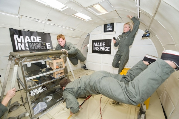 3-D printer at Zero Gravity