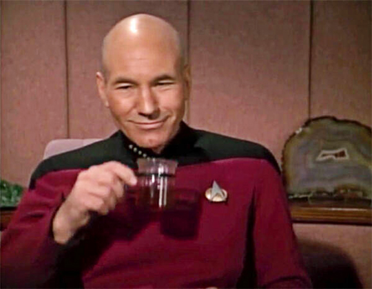 Tea, Earl Grey, Hot!